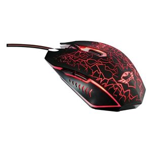 AURICULAR + MICROFONO POWERBASS ROJO COOLSOUND
