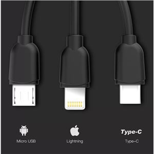 PACK CARGADOR CORRIENTE 2.1A + CABLE MICRO USB CROMAD - CR0880-1